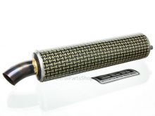 SCR Corse kevlar einddemper 240mm