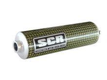 SCR Corse kevlar einddemper 200mm